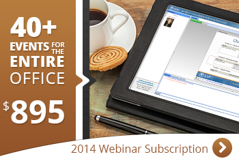 2014 Webinar Subscription