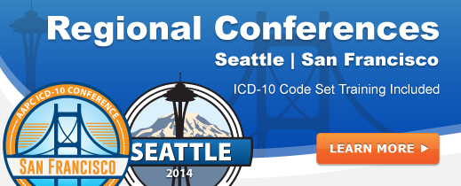 Regional Conferences - Includes ICD-10 Training