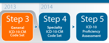 ICD-10 Training Steps