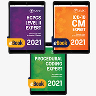 Pro Fee Coder Bundle 2021 (With AAPC Procedural Code Book) - eBook