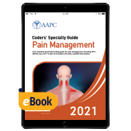 Coders' Specialty Guide 2021: Pain Management - eBook