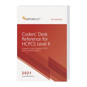 2021 Coders' Desk Reference for HCPCS Level II - (Compact, 6x9) (Optum)