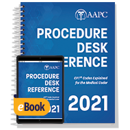 2021 Procedure Desk Reference - Print + eBook