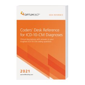 2021 Coders' Desk Reference for Diagnoses (ICD-10-CM) - (Compact, 6x9) (Optum)