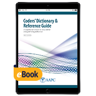 Coders' Dictionary & Reference Guide - eBook - First Edition