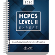 HCPCS Level II Expert 2020