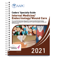 Coders' Specialty Guide 2021: Internal Medicine/ Endocrinology/ Wound Care