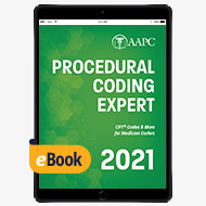 2021 Procedural Coding Expert - eBook