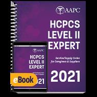 2021 HCPCS Level II Expert - Print + eBook