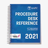 Procedure Desk Reference 2021