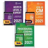 Pro Fee Coder Bundle 2021 (With AAPC Procedural Code Book) - Print + eBook