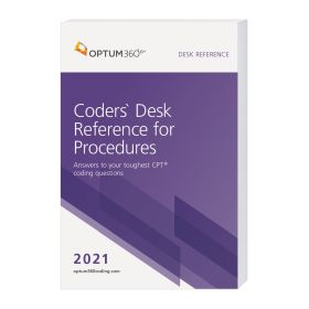 2021 Coders' Desk Reference for Procedures - (Compact, 6x9) (Optum)