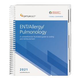 2021 Coding Companion for ENT/Allergy/Pulmonology (Optum)