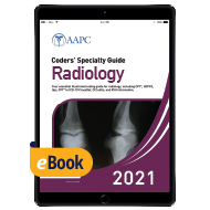 Coders' Specialty Guide 2021: Radiology - eBook