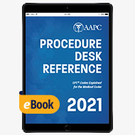 2021 Procedure Desk Reference - eBook