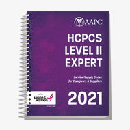 HCPCS Level II Expert 2021