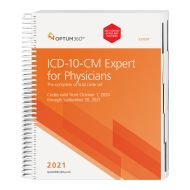 2021 ICD-10-CM Expert for Physicians - (Spiral) with guidelines (Optum)