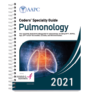 Coders' Specialty Guide 2021: Pulmonology