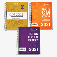 Exam Book Bundle 2021 (CPT®, HCPCS, ICD-10-CM)