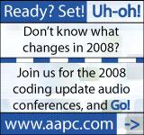 2008 Coding Updates Audio Conferences