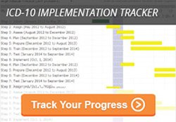 ICD 10 Impelemtnation Tracker