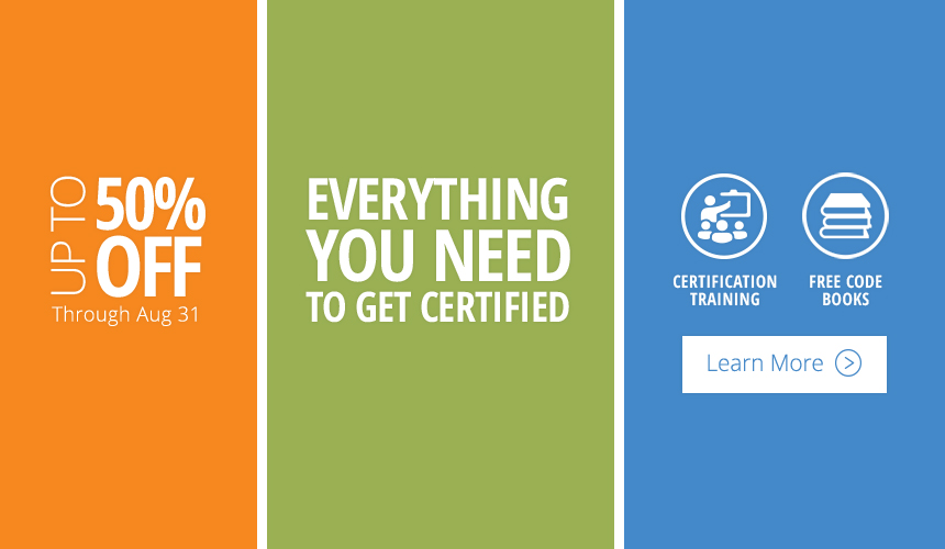 Everything you need to get certified