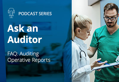 auditing operative reports podcast