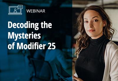 Modifier 25 Webinar