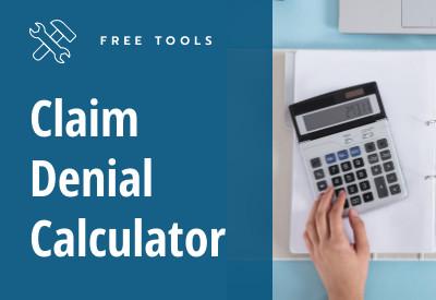 Claim denial Calculator