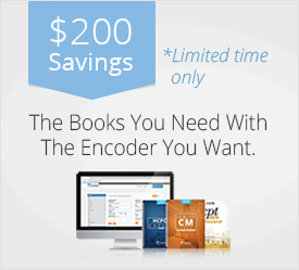 $200 Savings on Medical Coding Books