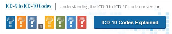 ICD-9 to ICD-10 codes