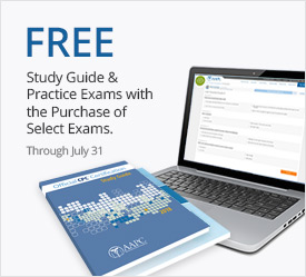 FREE Practice Exams & Study Guide with Exam Purchase